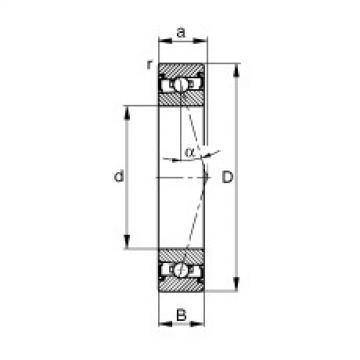 roulements HSS7007-C-T-P4S FAG