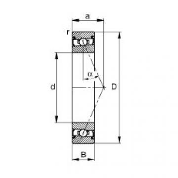 roulements HSS7001-E-T-P4S FAG