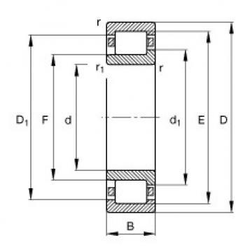 roulements NJ214-E-TVP2 FAG