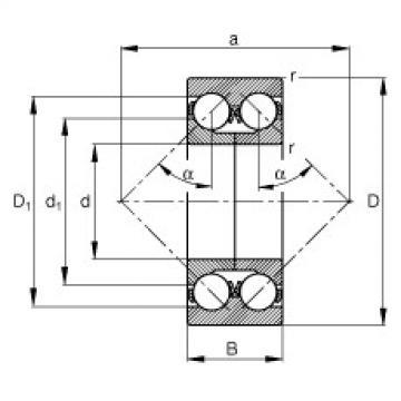 roulements 3305-DA-TVP FAG
