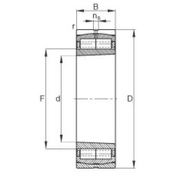 roulements Z-565530.ZL-K-C5 FAG