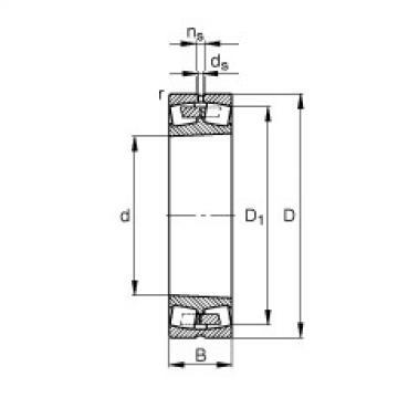 roulements 241/530-B-K30-MB FAG