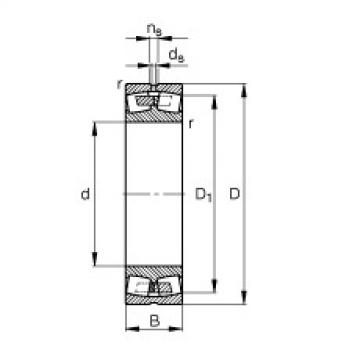 roulements 248/1400-B-MB FAG