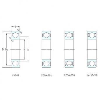 roulements 6206-2Z/VA228 SKF