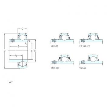 roulements YAR204-012-2RF SKF
