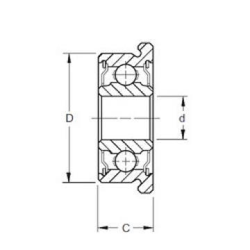 roulements SFR156-2TS ZEN