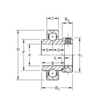 roulements SMN115K Timken
