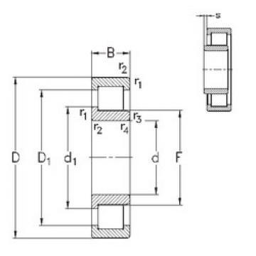 roulements NJ2326-E-TVP3 NKE