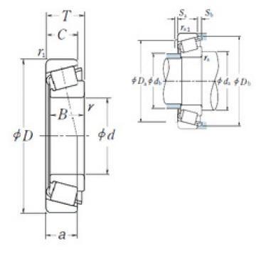roulements HR33022J NSK