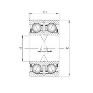 roulements 7026 A-UX CX