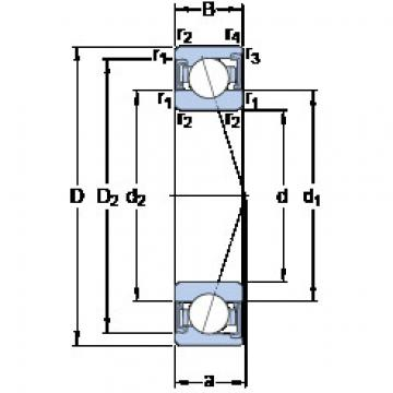 roulements S7015 ACD/HCP4A SKF