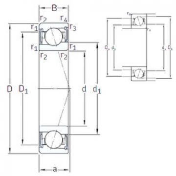 roulements VEB 50 /S/NS 7CE1 SNFA