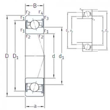 roulements VEX /S 75 /S 7CE1 SNFA