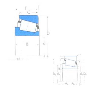 roulements HM803146/HM803111 Timken