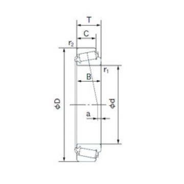 roulements H-11590/H-11520 NACHI
