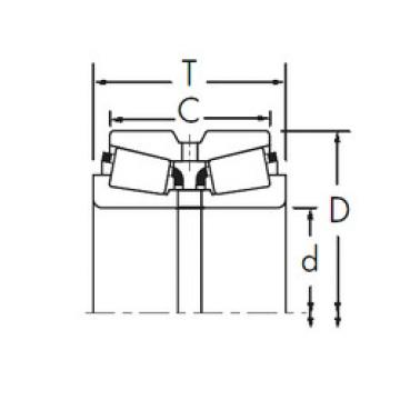 roulements LM119348/LM119311D+LM119348XA Timken