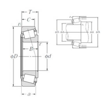 roulements 4T-A4050/A4138 NTN