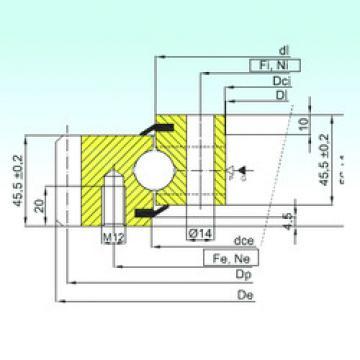 roulements EB1.20.0744.201-2STPN ISB
