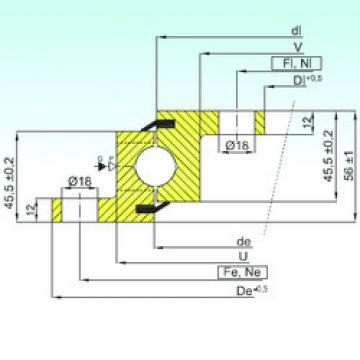 roulements NBL.20.0314.200-1PPN ISB