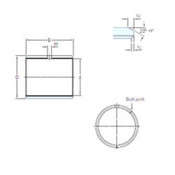 roulements PCM 040503 E/VB055 SKF