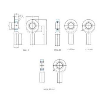 roulements SA70ES-2RS SKF