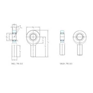 roulements SAL70TXE-2LS SKF