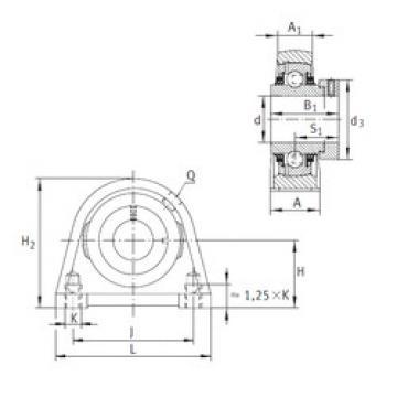 roulements TSHE35-N INA