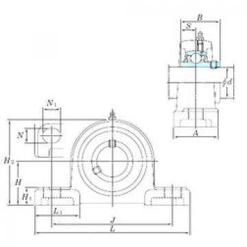 roulements UCP216-50SC KOYO