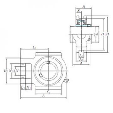 roulements UCTX11-36E KOYO