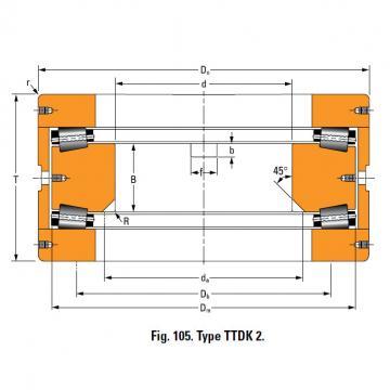 Bearing T10400 Thrust Race Single