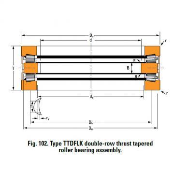 Bearing A6881A Thrust Race Double