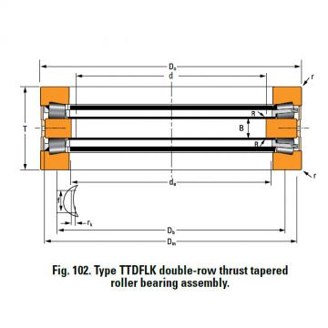 Bearing T10250F Thrust Race Single