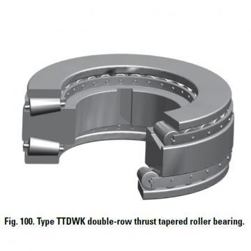 Bearing T12100F Thrust Race Double