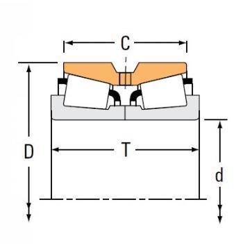 Bearing HM252343NA HM252311D