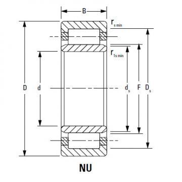Bearing NU3034EMA