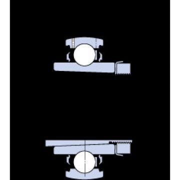 roulements YSA 205-2FK + HE 2305 SKF