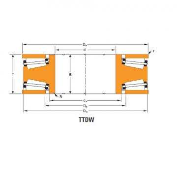 Bearing Thrust race double T10250dw