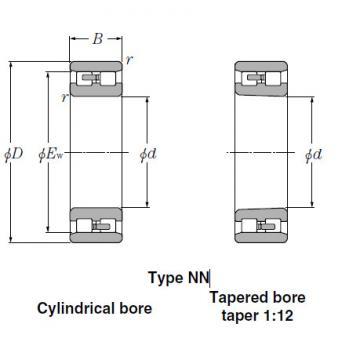 Bearings Tapered Roller Bearings NN3926K