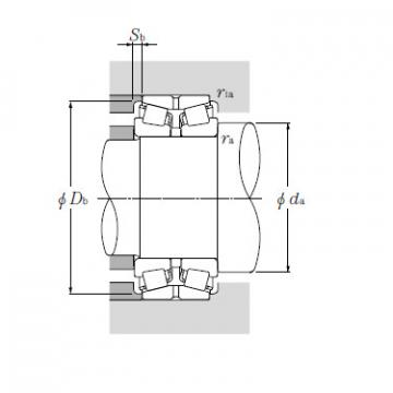 Bearing T-EE231462/231976D+A