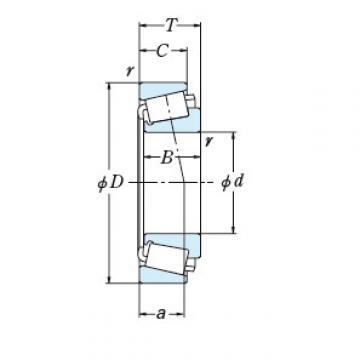 Bearing EE231462/232025