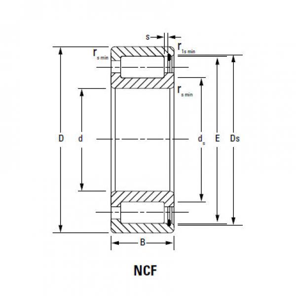 Bearing NCF2924V #1 image