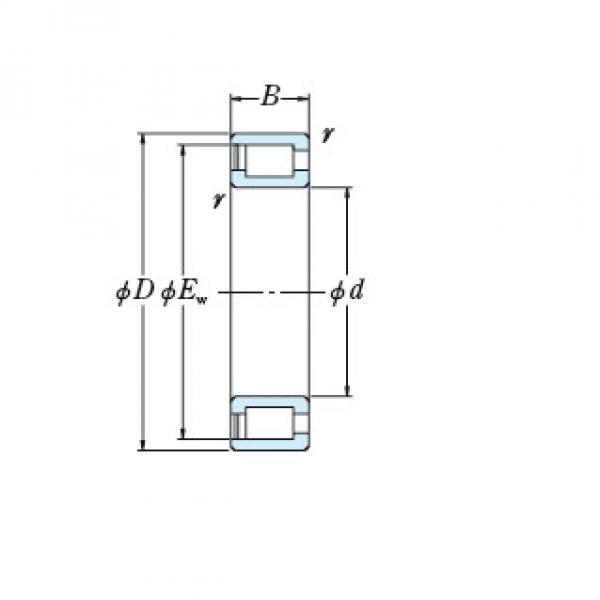 Bearing NCF3044V #2 image