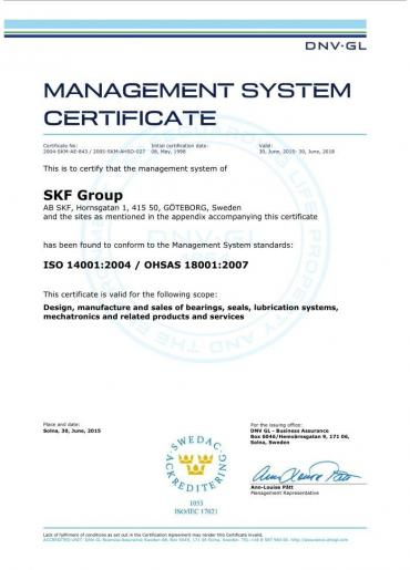 ISO 14001:2004/OHSAS 18001:2007